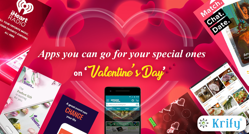 Apps you can go for your special ones on 'Valentine's day'