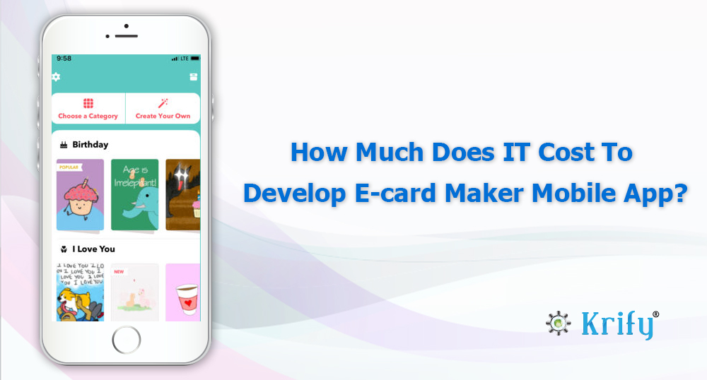 E Card Maker Mobile App