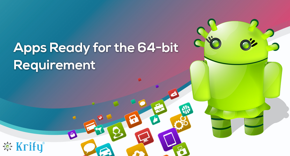 How to update my android app to the 64-bit version? | Krify