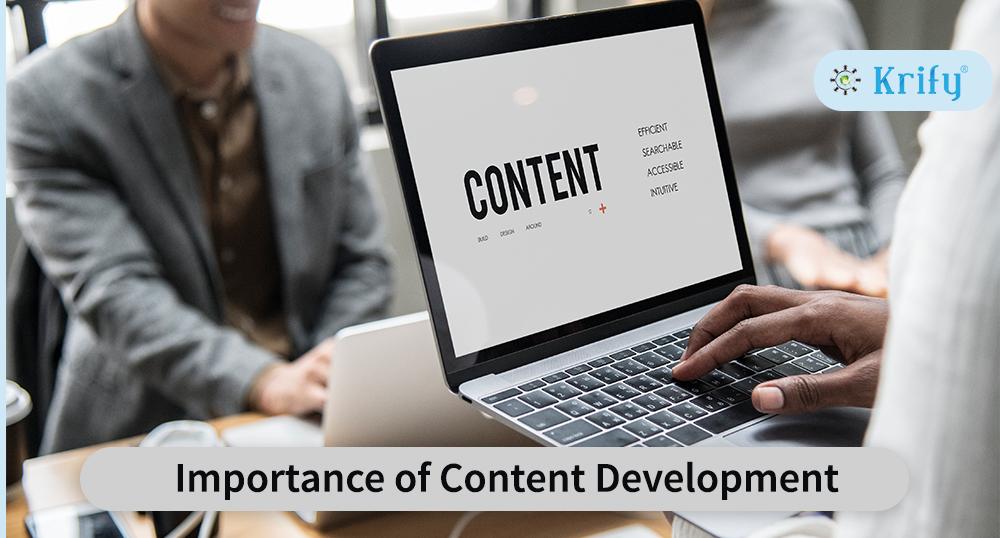 Importance of content development