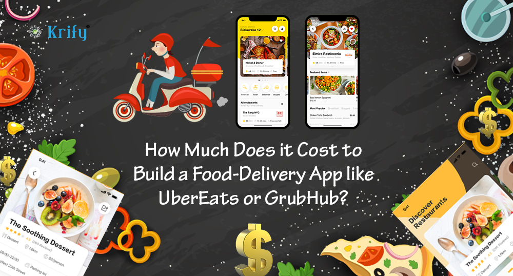 Build a food delivery app like UberEats ot GrubHub