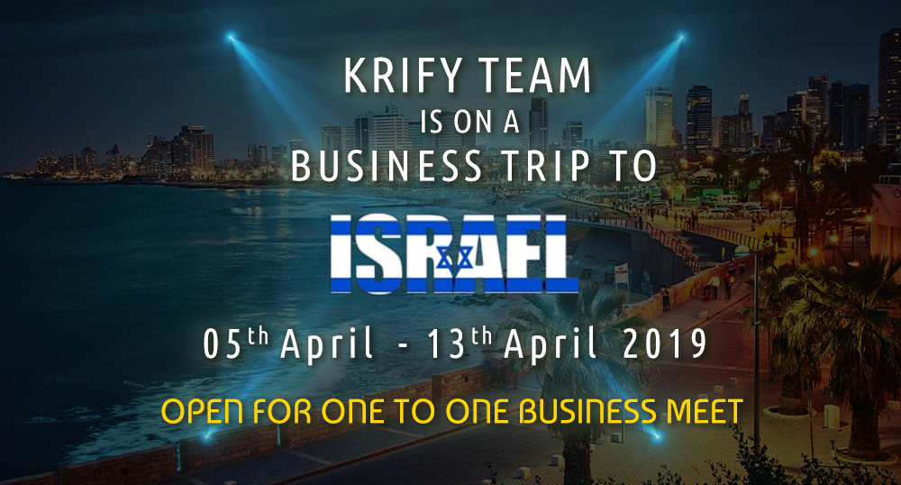 Business meet at Israel
