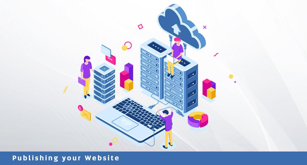 Publishing your website