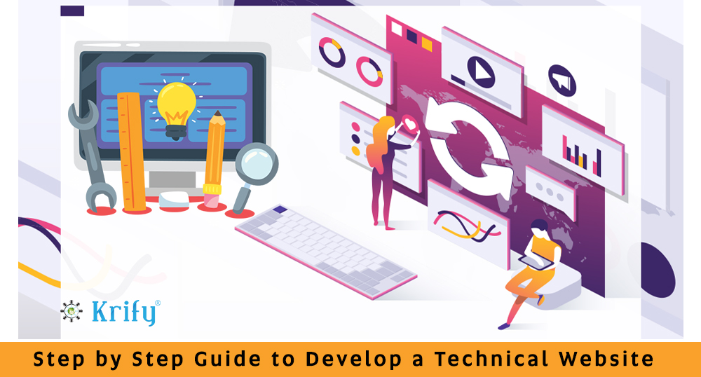 Step by step guide to develop a Technical Website
