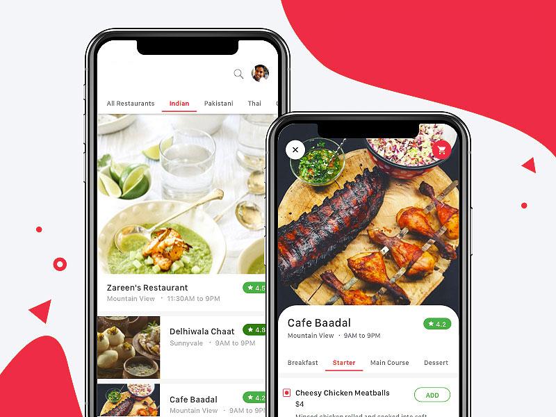 ondemand food app