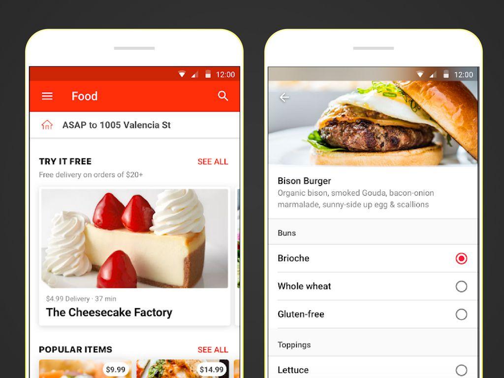 ondemand meal app