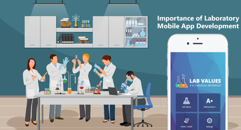 Android and iOS Mobile Development Company for Laboratory