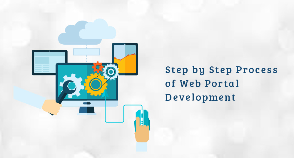 Step by Step process of developing a Web Portal | Krify