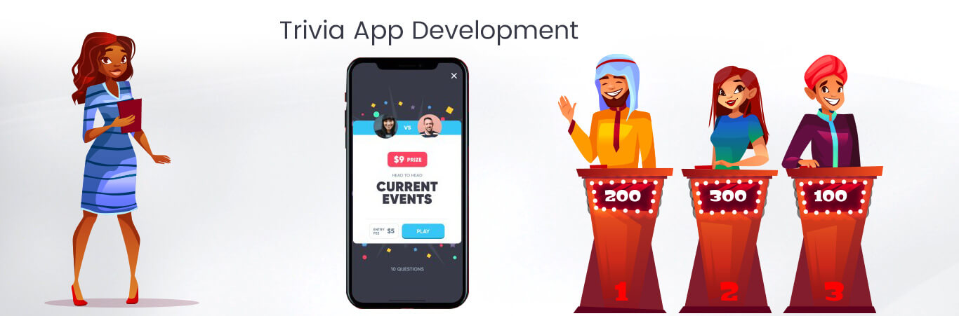 Trivia App Development company   Quize app developers   Krify