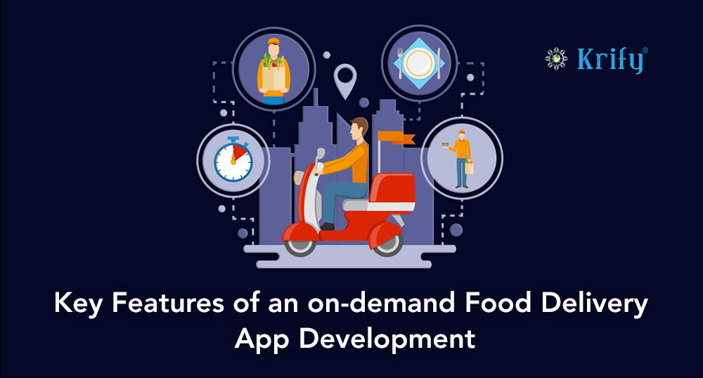 Develop an online food delivery app like Just Eat | Krify